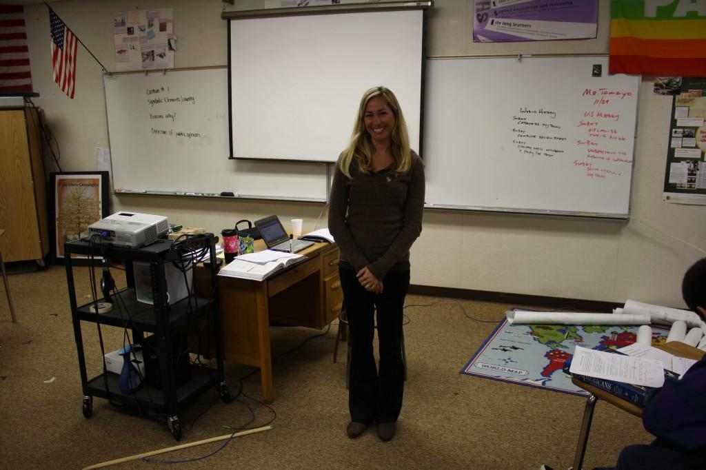 New teacher brings fresh outlook to the classroom