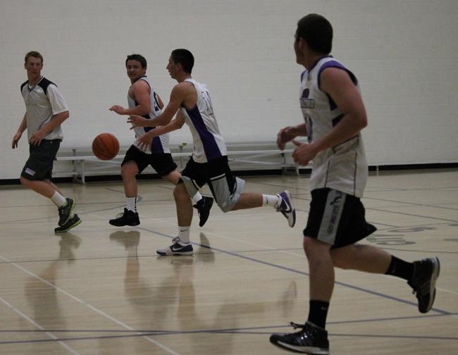 CHS seniors break the age barrier in adult basketball league
