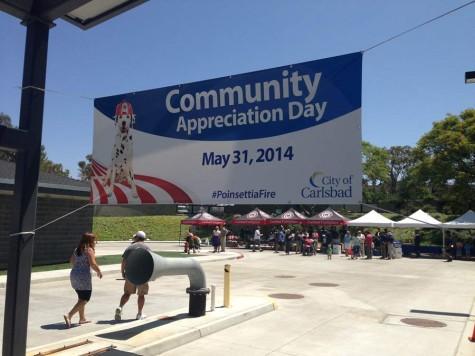 Community Appreciation Day finalizes the Poinsettia Fire