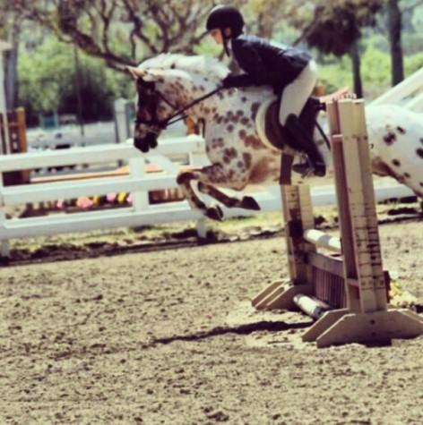 Keeli Sohaei rides her way to success