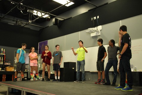 A new year brings new beginnings for Improv Club