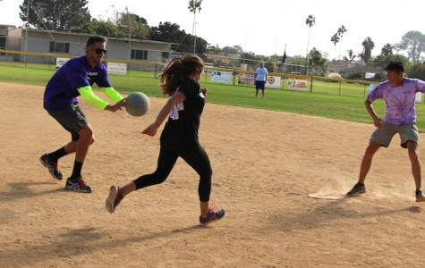 The Armory hosts staff vs. student kickball game