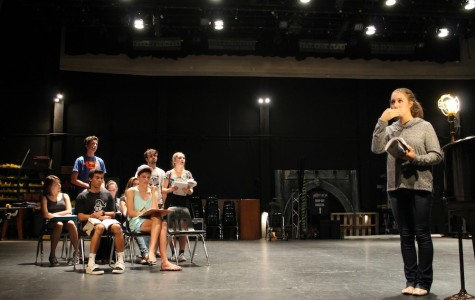 First fall musical takes the stage