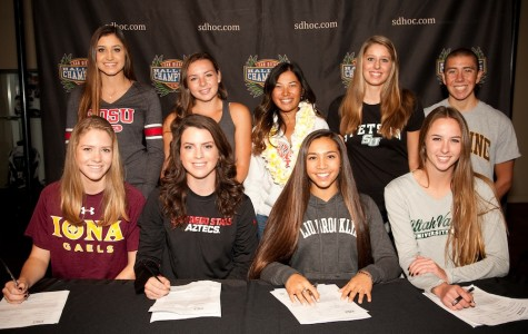 Athletes sign their way to the future