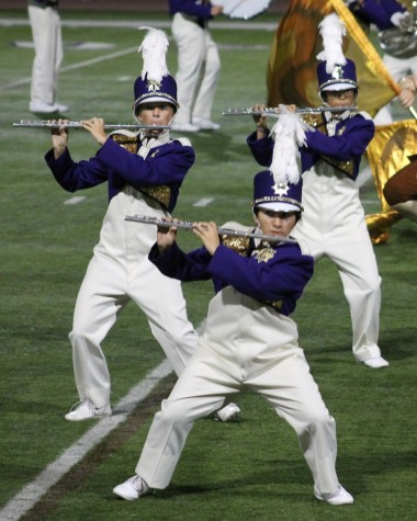 Marching band plays its way to the top