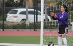 Yesenia Betancourt dribbles her two favorite sports