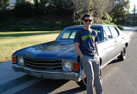 Evan Mankarious builds his dream car