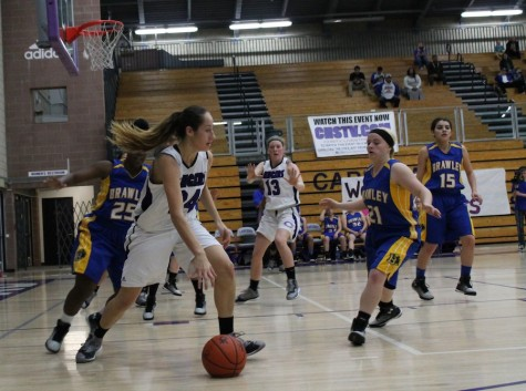 Girls Basketball dribbles past Brawley