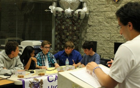Students and adults go head to head in Academic League match