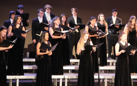 """""""A night with the stars on Broadway"""" brings change to the spring choir show"""
