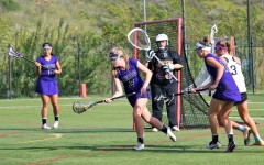Girls lacrosse comes in with a swing
