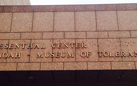 Museum of Tolerance trip cancelled