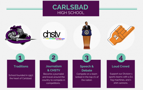 Top Ten reasons to choose Carlsbad High School