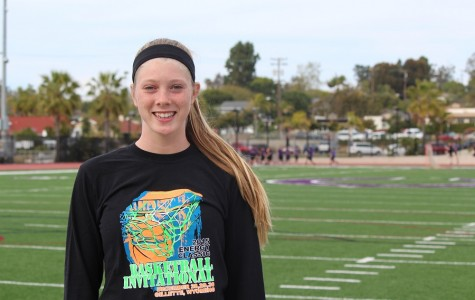 Lancers in the crowd: Alana Snow