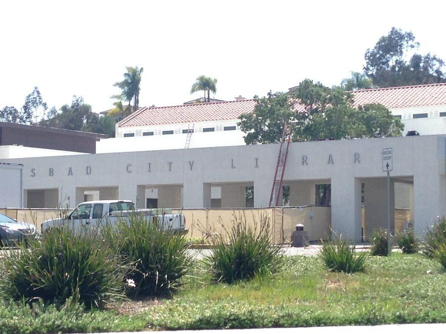 Carlsbad+Dove+Library+closes+for+renovation++til+June.+The+renovation+will+help+improve+the+library.