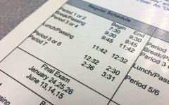 BRIEF: New bell schedule