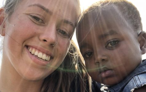 Kelly Frost contributes to Kids for Peace