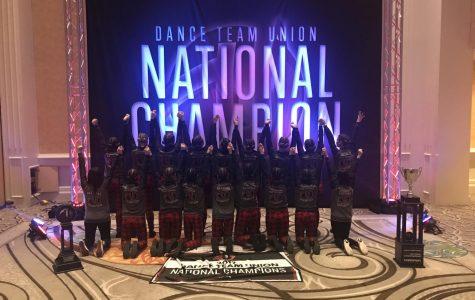 Lancer Dancers bringing home the win