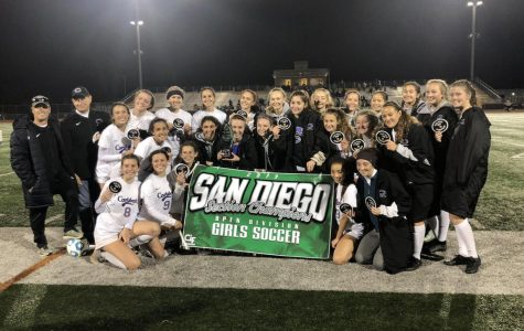 Girls soccer wins CIF Open Division