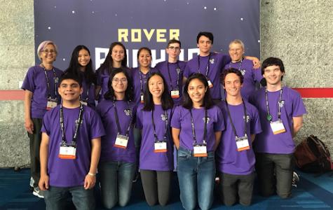 Robotics team reaches the world championships