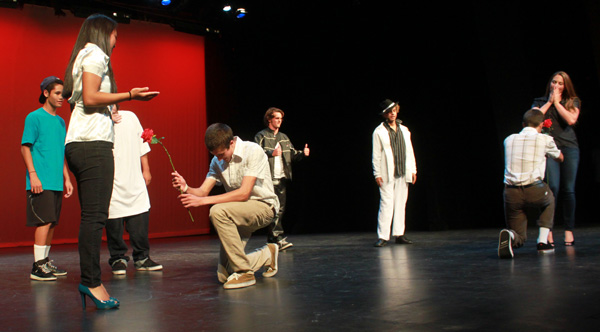 ASL students strut their talent