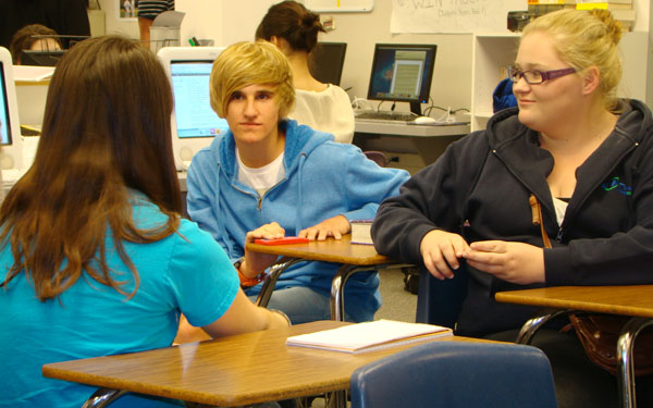 Australian students visit CHS