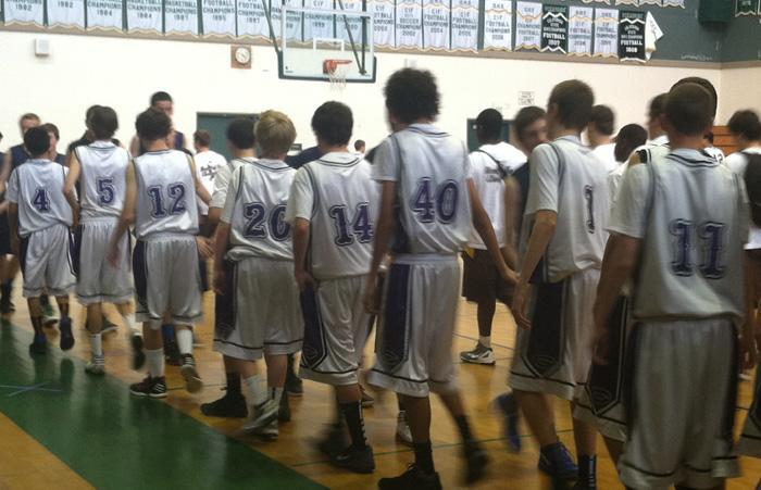 Freshman+Boys+Basketball+takes+on+cross+town+rivals