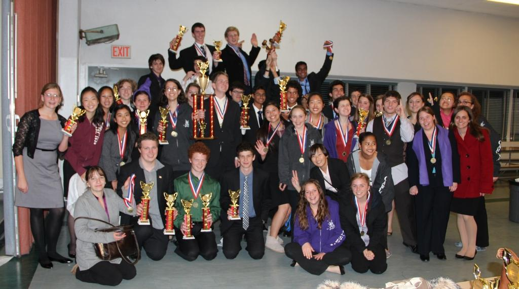 Speech+and+Debate+sweeps+first+place