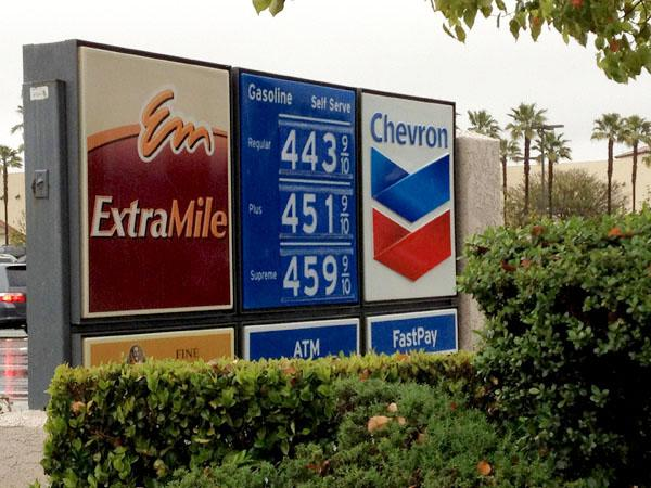 Gas prices keep rising and rising, causing outrage in America.
