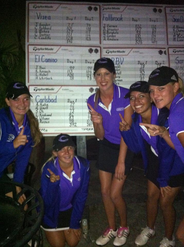 Girls+varsity+golf+wins+league+champion+title