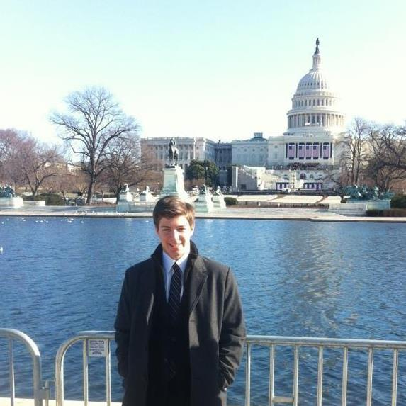 Future president attends Obamas inauguration