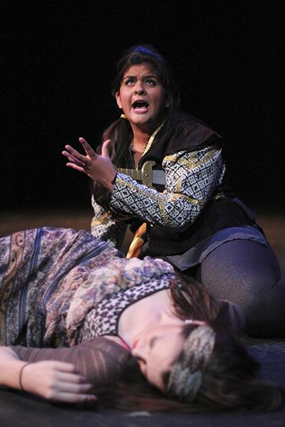 Maya Reddy plays Romeo in the play within