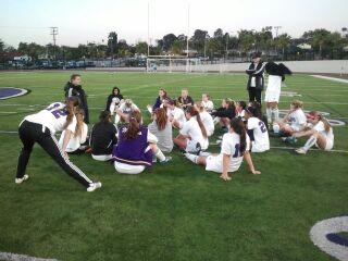 Girls varsity soccer defeats Patrick Henry