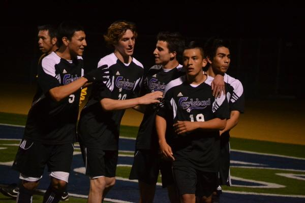 On+Feb.+11%2C+boys+varsity+soccer+faced+La+Costa+Canyon+and+the+team+had+high+expectations+of+winning+the+game.+Senior+Tito+Cruz+scored+the+final+goal+of+the+game+%28Lcc-1%2C+Chs-3%29.