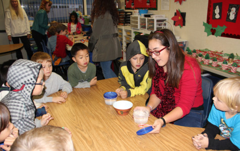 Nakamura demonstrates the importance of character traits through an interactive activity. Though she aims for the Gold Award, Nakamura's firm belief in stilling traits like fairness and responsibility early in education keeps her smiling and proud of her achievements.