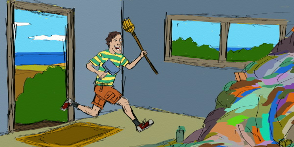 Sweep out any thoughts about spring cleaning