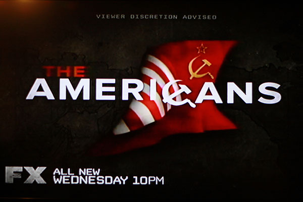 The Americans is a new show on FX on Wednesday nights at 10 pm.