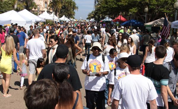 Balboa park celebrated its annual Earth Day Festival on Apr. 21. There was a huge turn out with an estimated 100,000 people attending in order to browse through the eco-friendly booths and organizations.