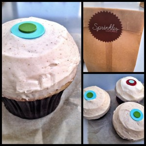 Sprinkles flavors and elegant style set them apart from other cupcake shops with flavors like this spiced chai tea cake with chai vanilla frosting.
