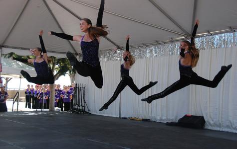 Lancer Dancers wow  the crowd at Art Splash on Saturday. Art Splash raises money for arts and music programs in Carlsbad schools.