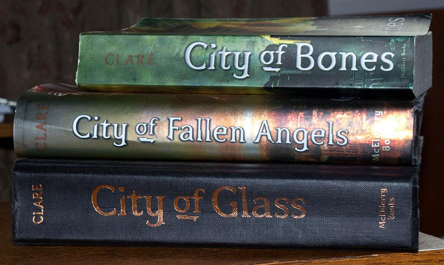 The book series that started it all, Mortal Instruments. This series is the influence for the movie City of Bones.