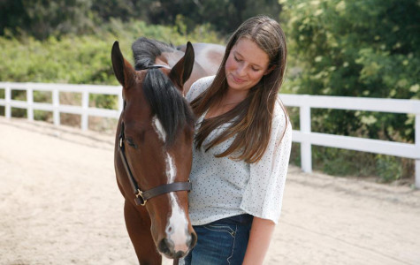 Junior Shannon Rohring and her horse Hallie have a bond.  Shannon competes on a regular basis while also balancing speech and debate and academics.