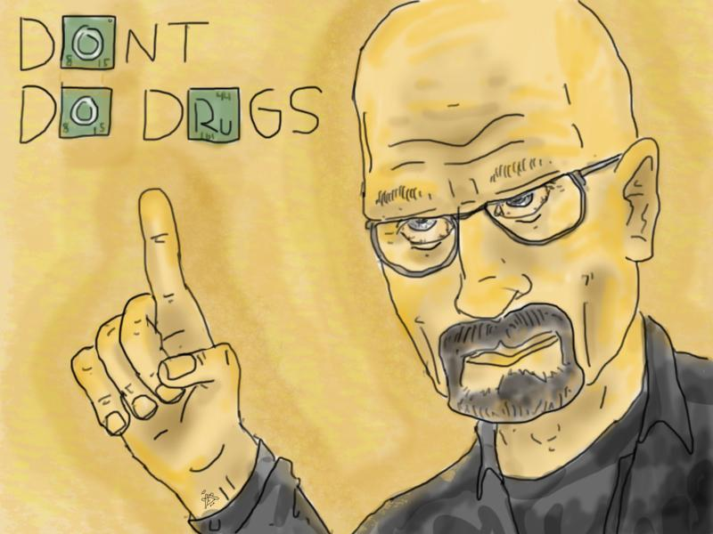 Walter White giving some good advice.