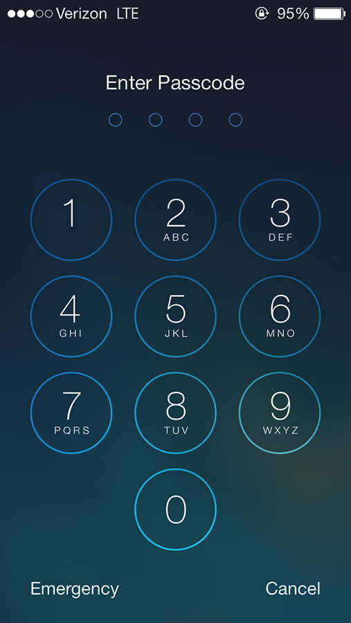 The new passcode screen first came with a glitch and could be bypassed through Siri, but with the new improvements users can keep out any unwanted guests.