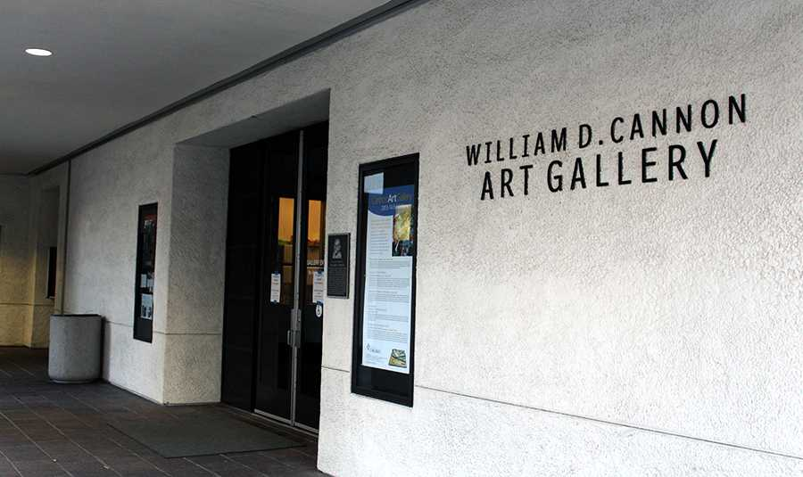 The William D. Cannon Art Gallery at Carlsbad Dove Library showcased  photos by Elliott Erwitt.  The pictures took a new look on man's best friend.