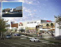 The Carlsbad mall is undergoing a drastic facelift. Among other renovations, the mall is changing its name and building a new movie theater. This picture shows an illustration of what the mall should look like in the coming years.(photo courtesy: The City of Carlsbad)