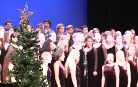 In the finale of the showcase, members from every choir group perform the chorus of
