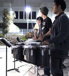 Drumline marches into the spotlight