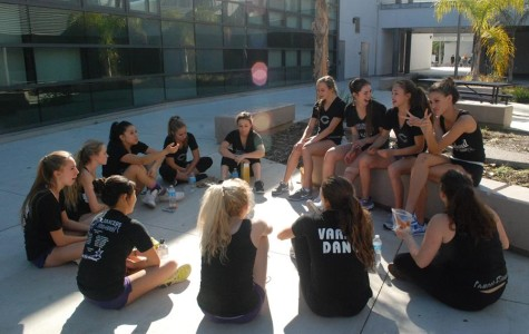 The Lancer Dancers  come together to talk about upcoming Nationals. Nationals is held in Disney World in Orlando,Florida.