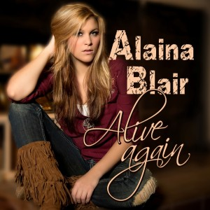 Alaina Blair sings into action
